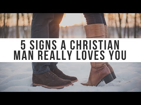 Signs a Christian Man Is Really in Love with You